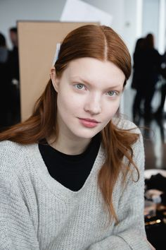 Anastasia Ivanova cleanses nightly with Bioderma and moisturizes with Carmex lip balm and Caudalíe Beauty Elixir. But her Holy Grail product for dryness is Nivea Creme  — the one in the blue jar.