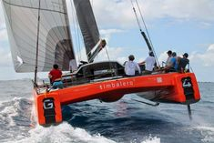 Gunboat G4: Test Sailing @St Maarten | Catamaran Racing, News & Design