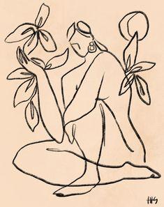 Arte Sharpie, Art Sketches, Art Drawings, Framed Art Prints, Art Inspo, Painting & Drawing, Line Art, Illustration Art, Artsy