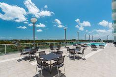Pool Deck - Nordica Condos #Miami #Amenities