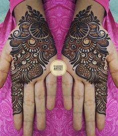 Beautiful & Simple Mehndi Designs for Hand Dulhan Mehndi Designs, Mehndi Designs 2018, Stylish Mehndi Designs, Wedding Mehndi Designs, Mehndi Design Pictures, Henna Hand Designs, Mehndi Designs Finger, Mehndi Designs For Beginners, Mehndi Designs For Fingers