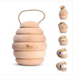 miel/ honey packaging