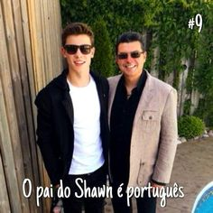 Shawn Mendes❤️❤️❤️❤️ They look so cool Shawn Mendes Magcon, Happy Fathers Day Dad, Kids In Love, Mendes Army, Magcon Boys, Bae, Celebs, Singer, Aaliyah