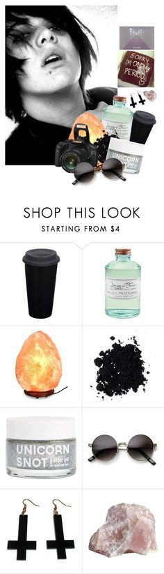"""""""Untitled #415"""" by infizity ❤ liked on Polyvore featuring beauty, Library of Flowers, Urban Decay, ZeroUV, Chicnova Fashion, contestentry and polyPresents"""
