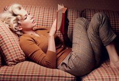 Michelle Williams as Marilyn Monroe - photo by Annie Leibowitz
