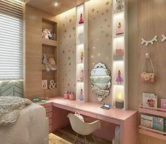 Inspiration für Zuhause - Love for Girly ❤️ room decor - Kinderzimmer Room, Room Design, Home, Home Bedroom, Bedroom Design, Kids Bedroom Designs, Girl Bedroom Decor, Dream Rooms, Kid Room Decor