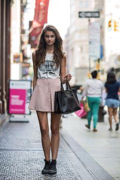 her miu miu skirt is just agdkha