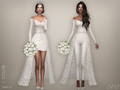 Lana CC Finds - Wedding collection - Lorena by BEO