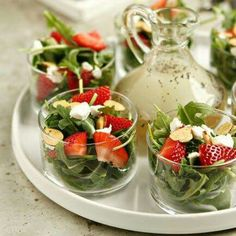 Strawberry Salads