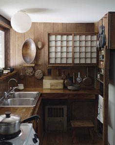 George Nakashima's kitchen