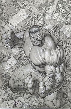 The Incredible Hulk by Dale Keown /* Hi Friends, want to see more pins like this? Make sure to follow our board @moirestudiosjkt #illustration */