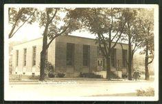 Caro Photo Postcard Post Office Tuscola MI Michigan 1943   eBay
