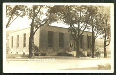 Caro Photo Postcard Post Office Tuscola MI Michigan 1943 | eBay