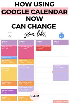 University Calendar, University Tips, Today Calendar, Calendar Ideas, Google Hacks, Work Productivity, Calendar Organization, Google Calendar, Computer Internet