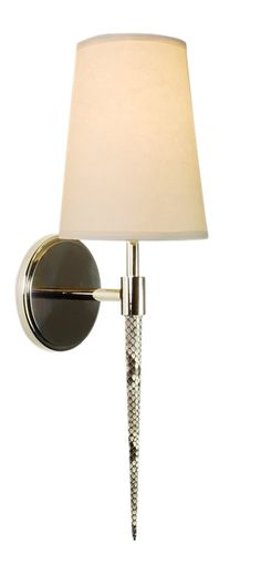 Buy Alvey Natural Python Sconce by Matthew Studios Inc. - Made-to-Order designer Lighting from Dering Hall's collection of Transitional Wall Lighting.