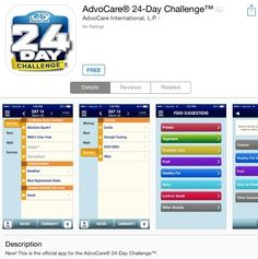 Have you downloaded #AdvoCare #24DayChallenge app? Are sure you're utilizing all the features? #WellnessWednesday