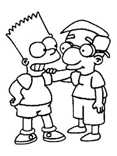 The Simpsons Coloring Pages 10