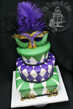 masquerade cake images - Google Search