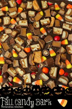 Fall Candy Bark