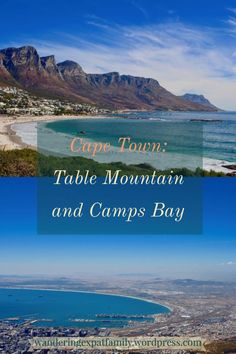 Pin for Table Mountain and Camps Bay