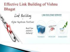 Internal Linking – An Off Page Strategy by Vishnu Bhagat
