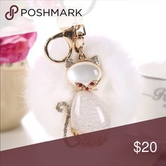 Key chain bag charm Pom Pom key chain bag charm NEW IN PACKAGE Accessories Key & Card Holders