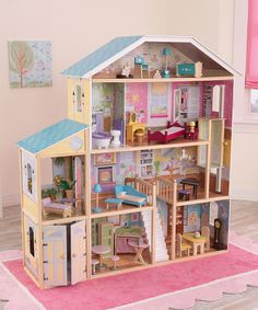 Look at this KidKraft Majestic Mansion Dollhouse Set on #zulily today!