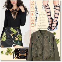 Lace Up by andrea2andare on Polyvore featuring moda and Prada