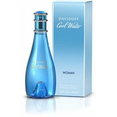 DAVIDOFF COOL WATER  WOMAN EDT-100 ml
