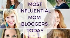Looking for great #recipes, #activities for #kids, parenting tips, or DIY projects? Look no further. Here are the 30 Most Influential Mom Bloggers Today!  - 30 Most Influential Mom Bloggers Today