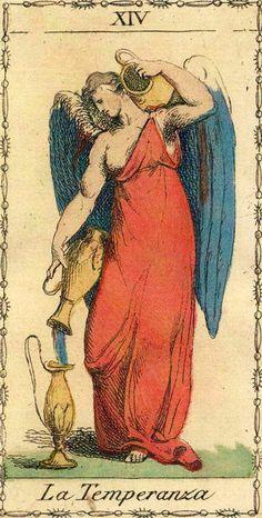 Temperance - Ancient Tarot of Lombardy