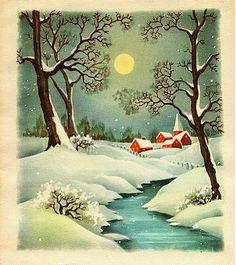Starry Christmas Eve.