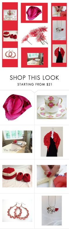 """""""Reds"""" by therusticpelican ❤ liked on Polyvore featuring modern, contemporary, rustic and vintage"""