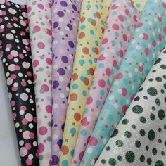 Small size Printed Polka Dots Fine Glitter Leather PU glitter Fabric for DIY Sewing SK30-in Synthetic Leather from Home & Garden on Aliexpress.com   Alibaba Group