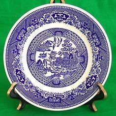 Willow Ware Blue Willow Royal China Bread & Butter Plate Blue Willow Plate C-53