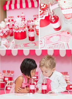 Retro Sweet Shoppe Valentine's Day Party..SUPER CUTE!