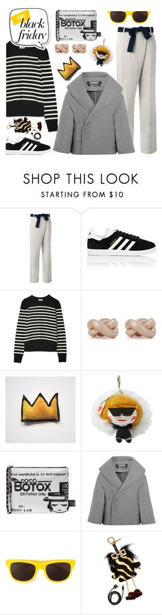 """...peacocks and lilies..."" by gabrielleleroy ❤ liked on Polyvore featuring Victoria Beckham, adidas, Yves Saint Laurent, Kate Spade, MUA MUA, Jacquemus, Moschino and Fendi"