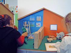 verteltafel krokodil en het meesterwerk 4 Year Olds, Van Gogh, Crafts For Kids, Preschool, Presentation, Museum, Concept, Feelings, Children