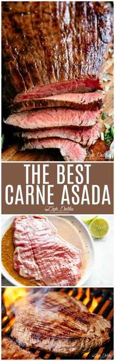 Carne Asada Recipe - Cafe Delites