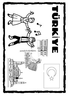 Social Studies Worksheets, Teaching Social Studies, Summer School, Pre School, Crochet Bag Tutorials, Coloring Pages, Tourism, Decoration, Study