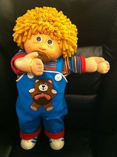 A truly gorgeous and unique one-of-a-kind Cabbage Patch Boy!  All ready for a big hug!