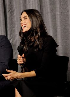 Jennifer Connelly attends the SAGAFTRA Foundation Conversations with the cast of 'Shelter' at SAG Foundation Actors Center on November 7 2015 in Los...
