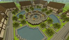 My minecraft town ( any ideas? ) My minecraft town ( any ideas? Villa Minecraft, Minecraft Diy, Architecture Minecraft, Construction Minecraft, Minecraft Garden, Minecraft House Plans, Minecraft Structures, Minecraft Medieval, Cute Minecraft Houses