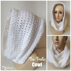 The Frolic Cowl ~ FREE Crochet Pattern
