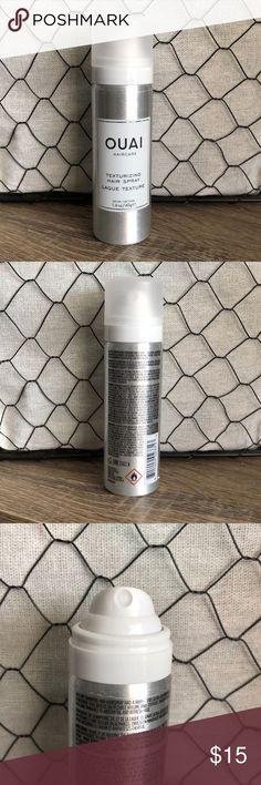 4 for $30 OUAI Texturizing Hair Spray 1.4oz 4 for $30   1 x OUAI Texturizing Hai Ouai Hair, Travel Bottles, Sephora Makeup, First Photo, Night, Photos, Pictures
