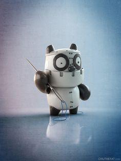 Panda Robot, Monster Threads