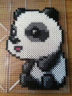 Maplestory perler bead panda by Khoriana on deviantART