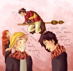 I have always known, deep in my soul, that the Marauders called them 'Lames'
