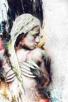 Beautiful Illustration called Sink - Mike Harrison