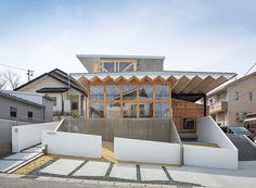 a house that encapsulates the feeling of being outside is what the client asked architects to achieve in this dwelling in japan.